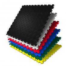 Цветная ПВХ-плитка для пола